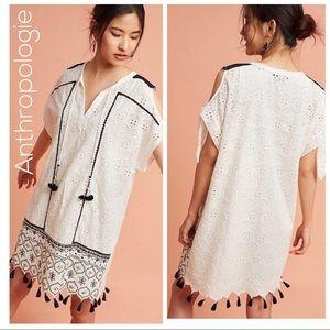 Hemant & Nandita Aditya Embroidered Tunic Dress M